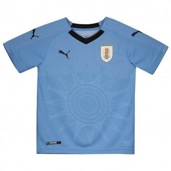 Camisa Puma Uruguai Home 2018 Juvenil