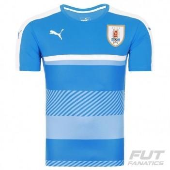 Camisa Puma Uruguai Treino 2016 Azul