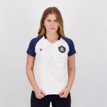 Camisa Remo Lion Feminina Branca