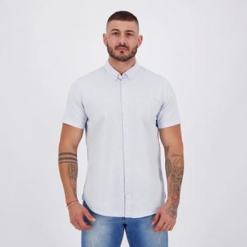 Camisa Reserva MC PF Oxford Azul