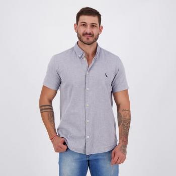 Camisa Reserva Oxford Cinza