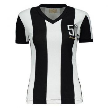 Camisa Atlético Mineiro Retrô MG 1950 Feminina