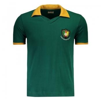 Camisa Retrômania Camarões 1982