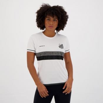 Camisa Santos Approval Feminina Branca