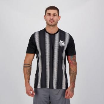 Camisa Santos Change Preta