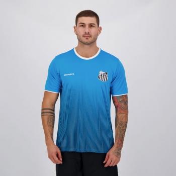 Camisa Santos Court Azul