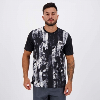 Camisa Santos Fold Preta