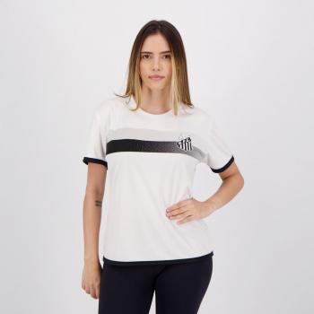 Camisa Santos Limb Feminina Branca