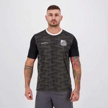 Camisa Santos Norm Chumbo e Preta