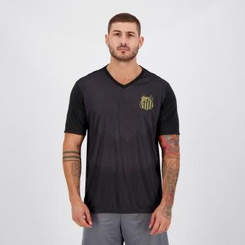Camisa Santos Parrot Preta