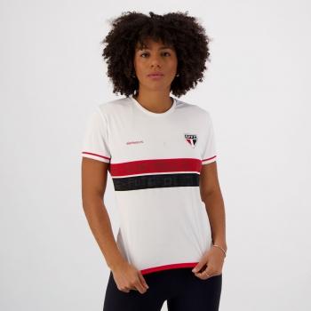 Camisa São Paulo Approval Feminina Branca