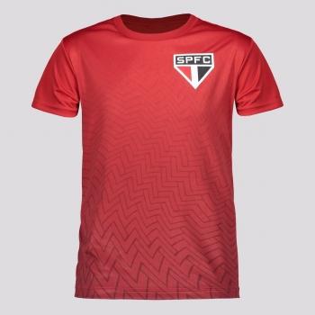 Camisa São Paulo Bryan Infantil Vermelha