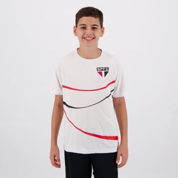 Camisa São Paulo Diamond Juvenil Branca
