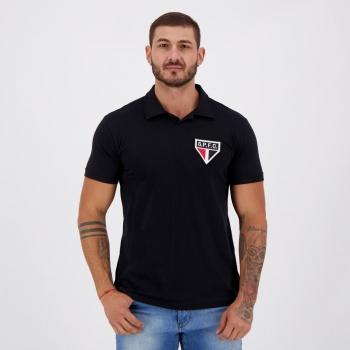Camisa São Paulo Retrô Preta