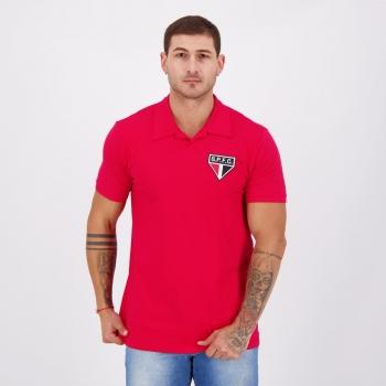 Camisa São Paulo Retrô Vermelha