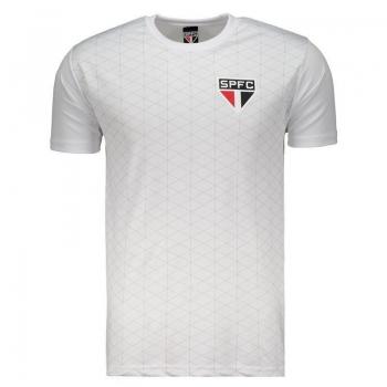 Camisa São Paulo Texture Branca