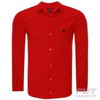 Camisa Social Atlético Paranaense Vermelha