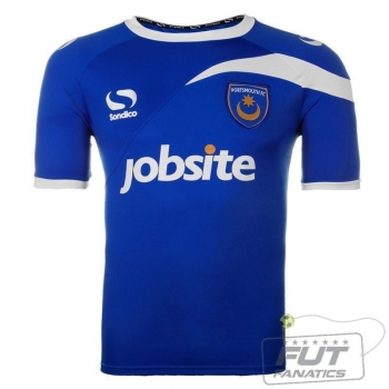 Camisa Sondico Portsmouth Home 2014