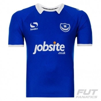 Camisa Sondico Portsmouth Home 2015