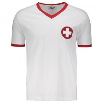 Camisa Suíça 1970 Retrô