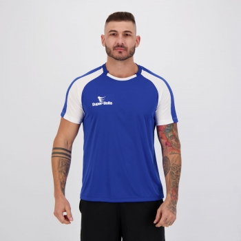 Camisa Super Bolla Anfield Azul e Branca