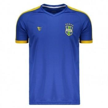 Camisa Super Bolla Brasil 2018 Nº 10 Azul