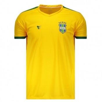 Camisa Super Bolla Brasil Pró 2018 Amarela