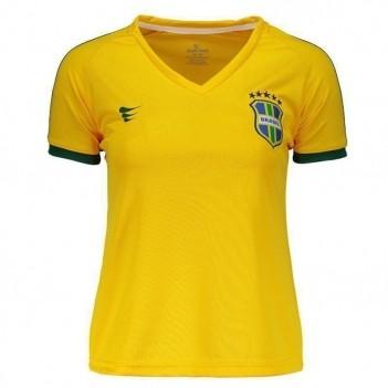 Camisa Super Bolla Brasil Pró 2018 Nº 10 Feminina