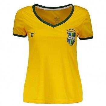 Camisa Super Bolla Brasil Torcedor 2018 Feminina