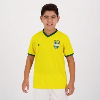 Camisa Super Bolla Brasil Torcedor 2018  Infantil