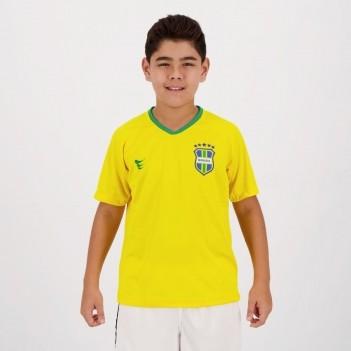 Camisa Super Bolla Brasil Torcedor Estadio 2018 Juvenil