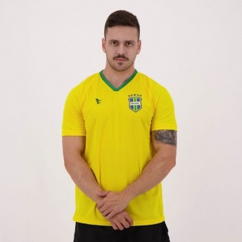 Camisa Super Bolla Brasil Torcedor Estádio Nº 10