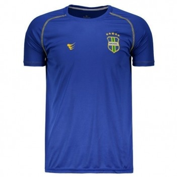 Camisa Super Bolla Brasil Ultimate 2018 Azul