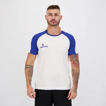 Camisa Super Bolla Champions Anfield Branca e Azul
