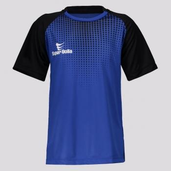 Camisa Super Bolla Goleiro Kazam Juvenil Azul