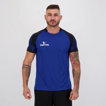 Camisa Super Bolla Goleiro Sevilha Azul e Preta