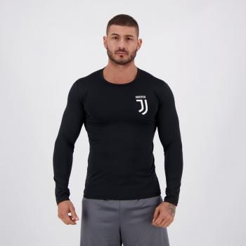 Camisa Térmica Juventus Preta