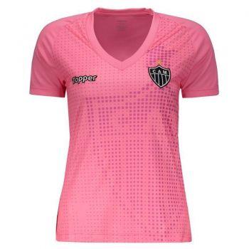 Camisa Topper Atlético Mineiro 2018 Outubro Rosa Feminina