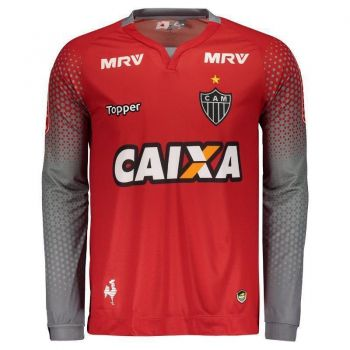 Camisa Topper Atlético Mineiro Goleiro II 2017 Manga Longa