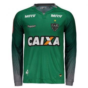 Camisa Topper Atlético Mineiro Goleiro III 2017 Manga Longa