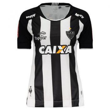 Camisa Topper Atlético Mineiro I 2017 sem Número Feminina