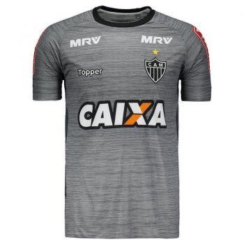 Camisa Topper Atlético Mineiro Treino 2017 Grafite