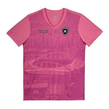 Camisa Topper Botafogo 2018 Outubro Rosa Juvenil