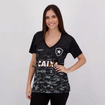 Camisa Topper Botafogo Aquecimento 2017 Feminina