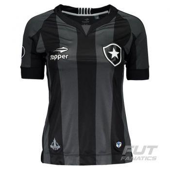 Camisa Topper Botafogo II 2016 Feminina Libertadores