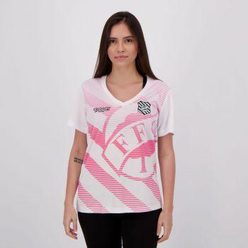 Camisa Topper Figueirense 2018 Outubro Rosa Feminina