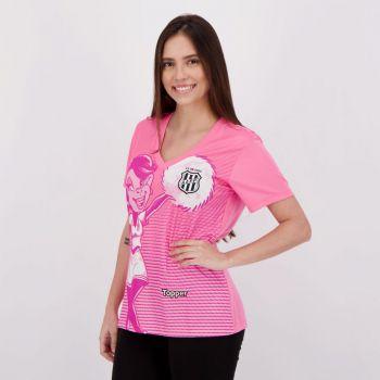 Camisa Topper Ponte Preta 2018 Outubro Rosa Feminina