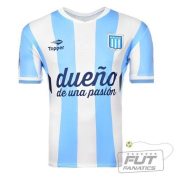 Camisa Topper Racing Home 2014