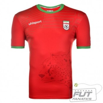 Camisa Uhlsport Irã Away 2014