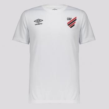 Camisa Umbro Athletico Paranaense Basic Juvenil Branca
